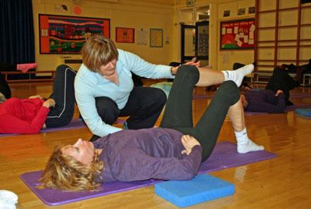Gail at Pilates 4 Life